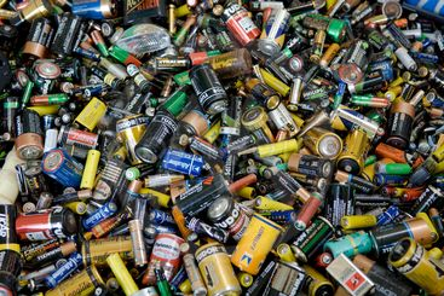 Gamla batterier