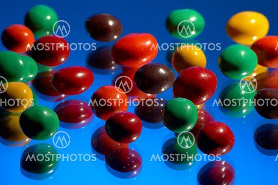 multi-coloured sweets