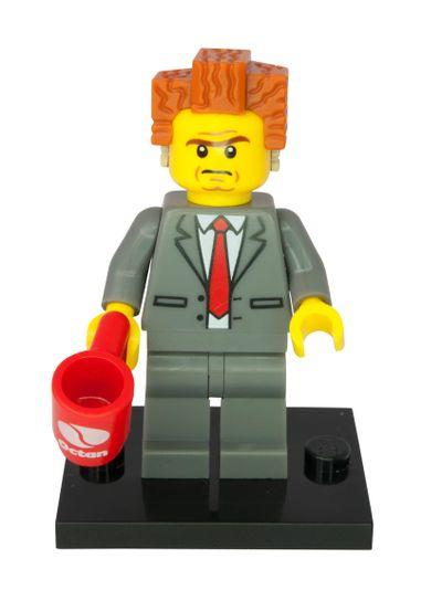 President Business Minifigure