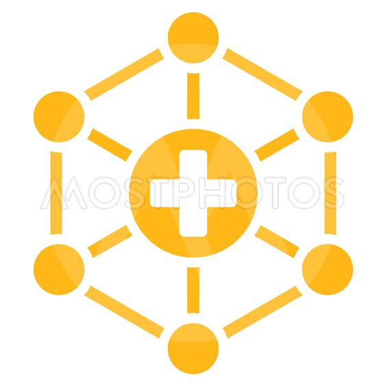 Medical Network Icon