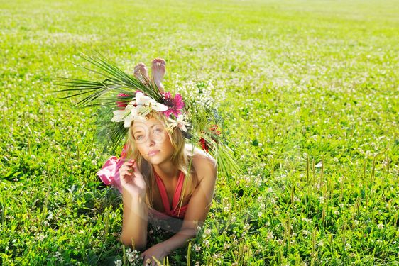 Meadow girl