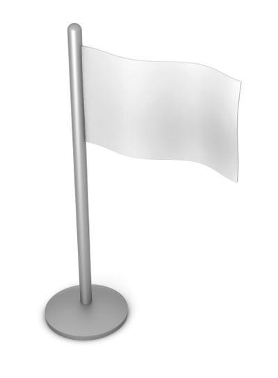 Generic white Flag