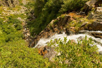 Elbe waterfall
