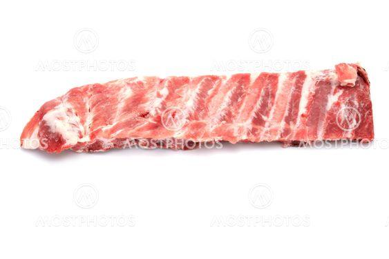 pork rib close up
