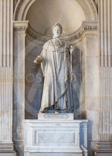 Statue Napoleon Bonaparte at the Palace Versailles near...