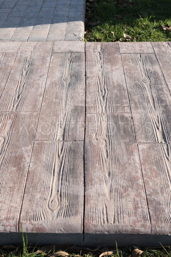 Stamped Concrete Pavement O By