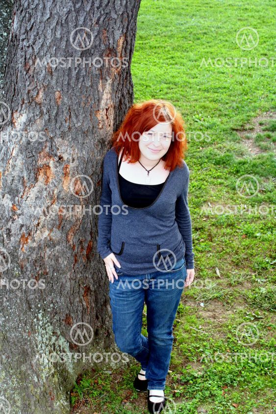 Contemporary Teen By Tree