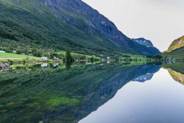 Lake Eidsvatnet in Norway