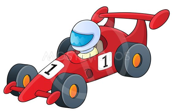 Racing car theme image 1