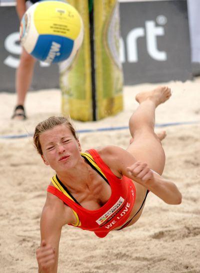 Beachvolleyball Katrin Holtwick