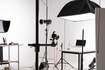 sesión de fotografía del producto en profesional...