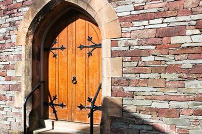 Old English Oak Doors
