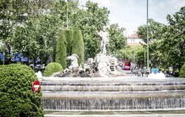 Neptuno fountain, Image of the city of Madrid, its...