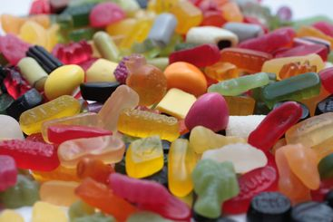 pile of assorted candies