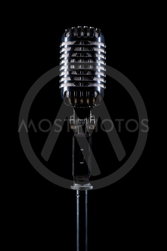Professional vintage microphone