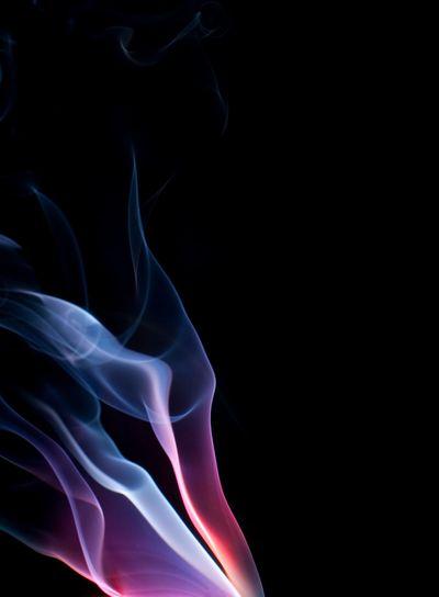 purple blue smoke background