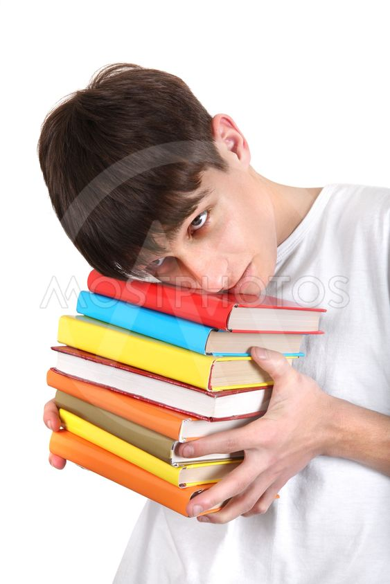 Student with a Books