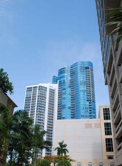City Scape Downtown Fort Lauderdale