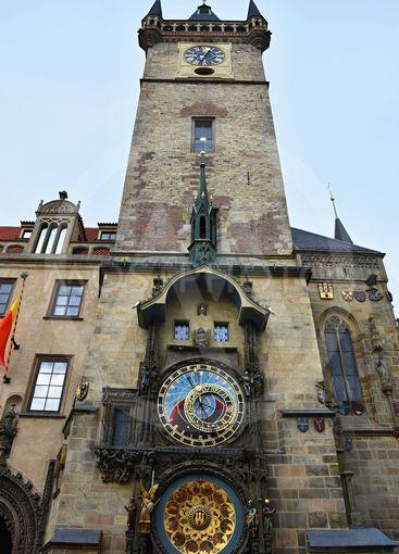 Prague Old Town Square Czech Republic, Astronomical Clock...
