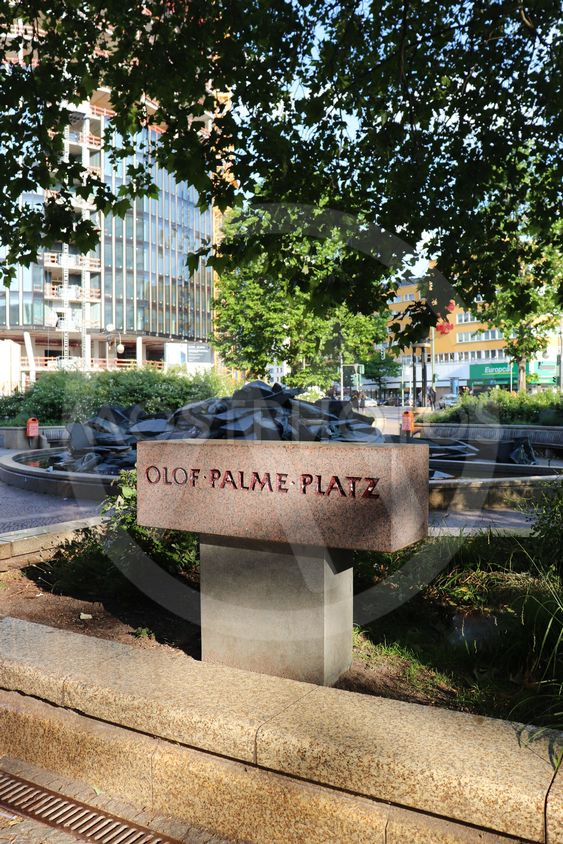 Olof Palme Platz i Berlin