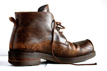 A brown boot