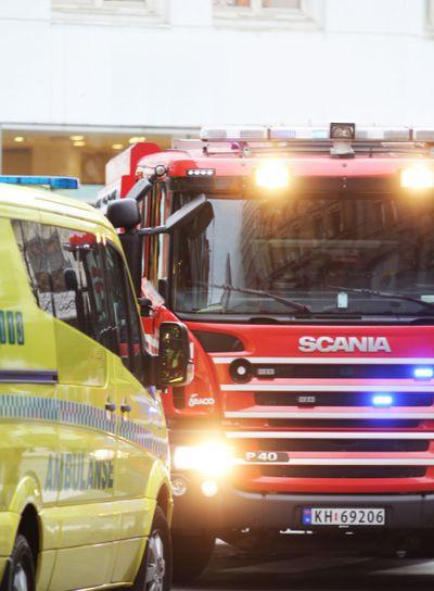 Ambulance and Fire Truck