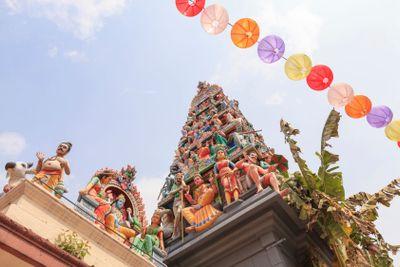Sri Mariamman temple, Singapore.