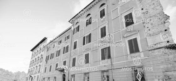 Bygninger i Pisa, Italien