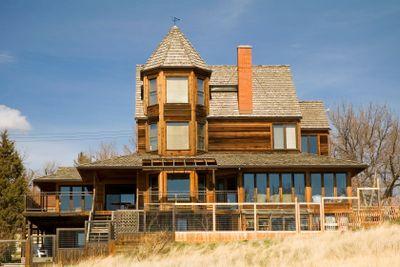 Wooden Castle Home