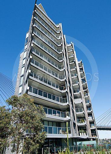 Pyrmont multistory apartments, Sydney, Australia.