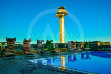 Arlanda flygplats och Clarion hotel
