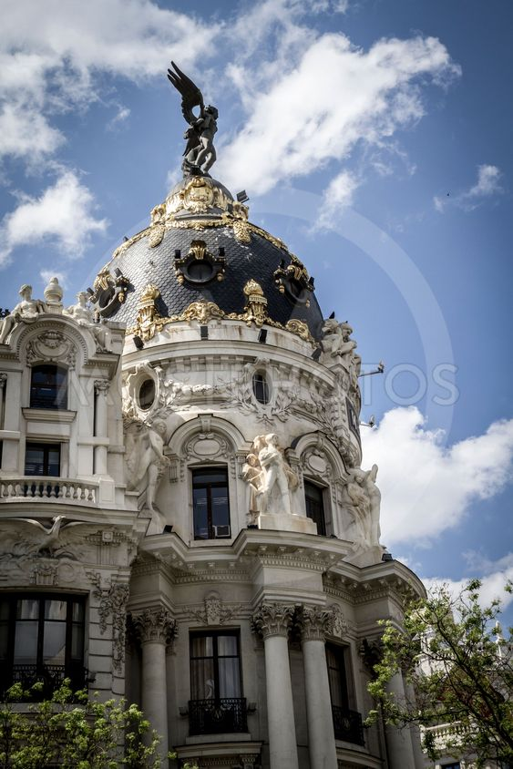 Metropolis, Image of the city of Madrid, its...