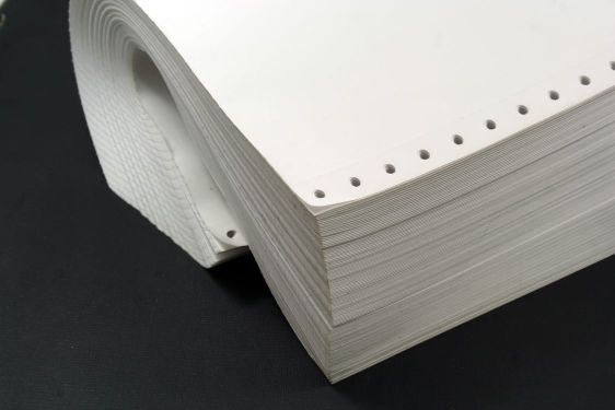 computer or continuous paper