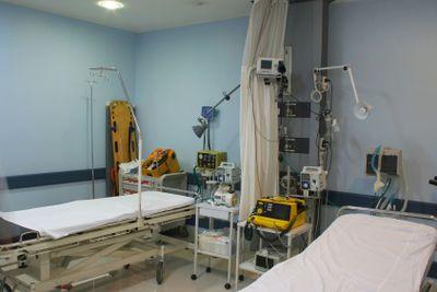 Shock room at a hospital