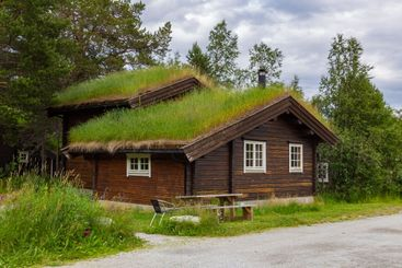 Eco-lodge in Norway