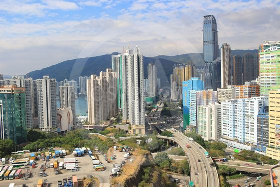 the Tsuen Wan district at 2017 hong kong