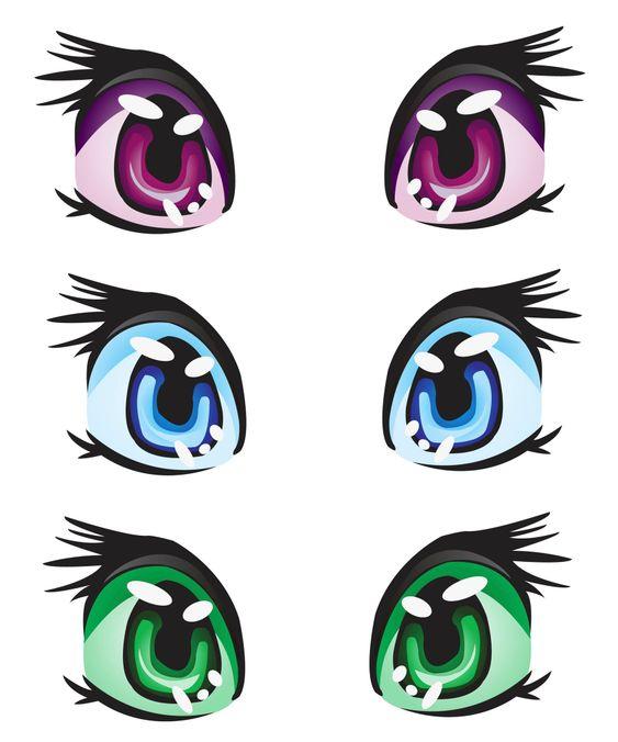 Картинки глаза кошки для пони