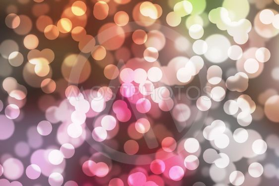 Colors Bokeh Abstract background.
