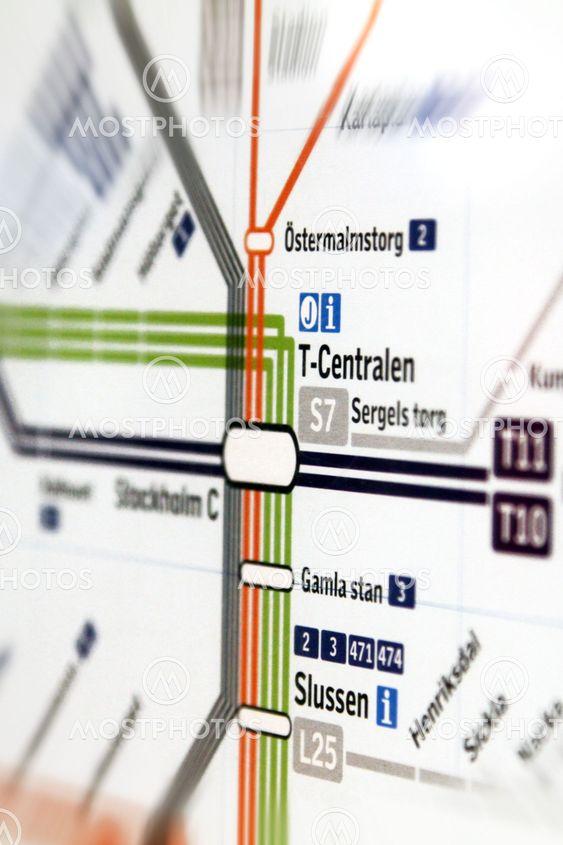 T Centralen Pa Karta 3 By Michael Erhardsson Mostphotos