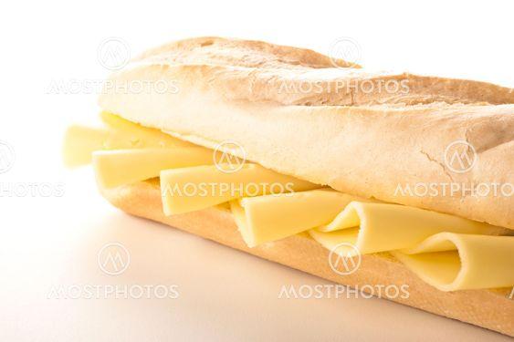 läckra smörgåsar med ost