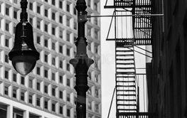 Lyktstolpe i New York