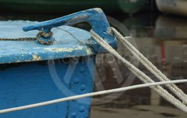 mooring cleat old boat