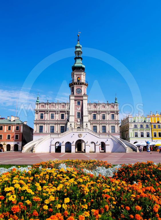 City Hall in Zamosc