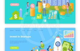 Invest in Startup People Launching Rocket Web