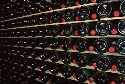Cellar for sparkling wine