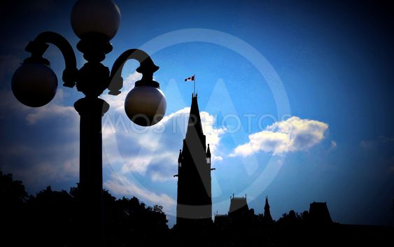 Peace Tower Silhouette globes
