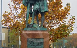 Sculpture of Georg Raphael Donner in Vienna Austria