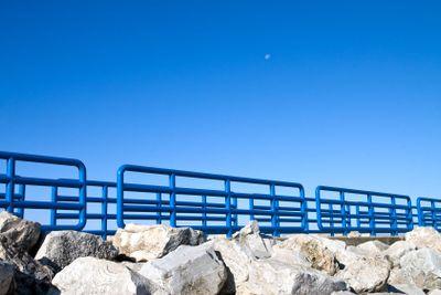 Moon Rails and Rocks