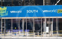 August 21, 2019 San Francisco / CA / USA - VMworld 2019...