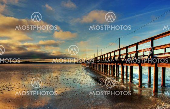 Steamboat pier